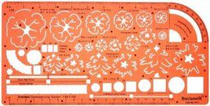 1:50 1:100 échelle Trace Gabarit Conception Planification de Jardin Paysage Architecte Symboles Plan - Dessin Technique Traçage Illustration Architecture Paysagère de la marque Bocianelli image 0 produit
