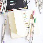 10 Couleurs stylos Marqueur Métallique Utilisation sur Toute la Surface du Papier / Verre / Plastique / Poterie, parfait pour Album Photo Carte DIY Fabrication, par WonderforU de la marque WonderforU image 4 produit