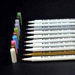 10 Couleurs stylos Marqueur Métallique Utilisation sur Toute la Surface du Papier / Verre / Plastique / Poterie, parfait pour Album Photo Carte DIY Fabrication, par WonderforU de la marque WonderforU image 2 produit