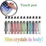 12pcs/lot Mengran Bling Bling 2en 1fin Cristal Diamant stylet et d'encre stylos à bille (12couleurs) de la marque MFIIDEN image 1 produit