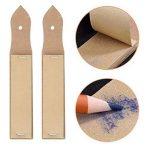 12 Pièces Crayon de Souche en Papier avec 2 Pièces Pouce à Crayons pour Dessin D'esquisse D'étudiant de la marque eBoot image 2 produit