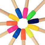 200 Pièces Effaceur de Crayon Gomme Capuchon Top Erasers pour Enfants Étudiants Apprentissage, Couleurs Assorties de la marque TecUnite image 2 produit
