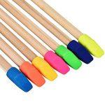 200 Pièces Effaceur de Crayon Gomme Capuchon Top Erasers pour Enfants Étudiants Apprentissage, Couleurs Assorties de la marque TecUnite image 4 produit