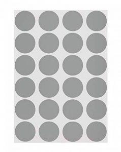 3/10,2cm Code de couleur Dot étiquettes sur feuilles | adhésif permanent, 0,75en.–1,008rond Stickers par lot de la marque Chromalabel.com image 0 produit