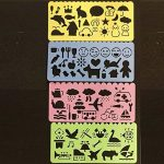 30 Sheets Magic Papiers à Gratter, Shsyue Papiers à Dessin Scratch Paper Papier de Peinture avec 3 Pièces Stylet en Bois et 4 Pièces Règles de Peinture de la marque Shsyue® image 3 produit