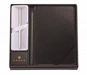 A. t. Cross Coffret cadeau Cross Classic Century Stylo roller avec carnet noir chrome brillant de la marque A.T. Cross image 0 produit