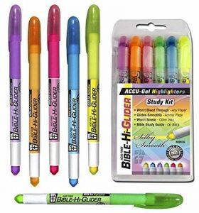 Accu-Gel Bible Highliter Study Kit de la marque G T Luscombe image 0 produit