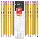 ARTEZA Crayons en Bois-HB N°2- Pré-Aiguisés - Gommes Sans Latex - (Boîte de 72) de la marque ARTEZA image 1 produit