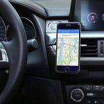 AUKEY Support Voiture Magnétique à Grille d'aération Support Téléphone Voiture Universel pour iPhone 7/6/5, Samsung Note 8/S8, LG et Les Autres Smartphones - Gris de la marque AUKEY image 3 produit