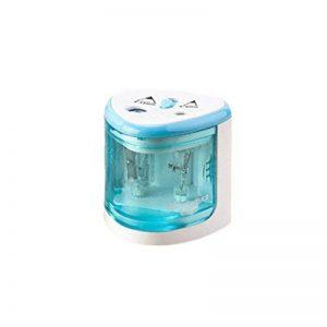 automatique deux trous Taille-crayon, Mml Home School Bureau Aiguise crayon à Perfect point taille-crayons électrique pour 6–8mm et 9–12mm Crayons de couleur (Bleu) de la marque MML image 0 produit