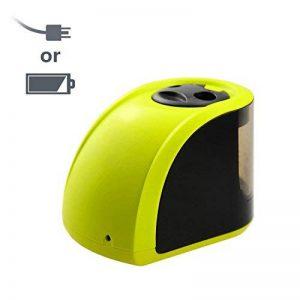 Batterie/Adapteur 2 Trous Taille-Crayon Electronique, Upeffeet Convent Machine à Tailler Les Crayons Ø6-8 / 10-12mm, avec Réserve Amovible, Fonctionne Automatiquement, Pratique pour Paresseux de la marque Upeffeet Convent image 0 produit