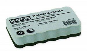 Bi-Office Brosse Effaceur Magnétique Léger, Pour Tableau Blanc, 10x5x2,3 cm de la marque Bi-OFFICE image 0 produit