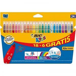 BIC Kids Kid Couleur Feutres de Coloriage - Etui Carton de 18+6 de la marque Bic Kids image 0 produit