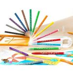 BIC Kit Rentrée des Classes - Pack de Coloriage de 18 Feutres/18 Crayons de Couleur/8 Crayons Graphite HB de la marque BIC image 4 produit
