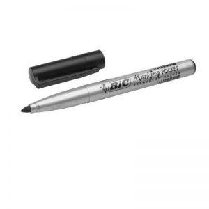 BIC Lot de 12 marqueur permanent Pocket 1445, pointe ogive, noir de la marque BIC image 0 produit