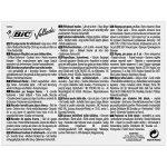 BIC Velleda 1741 Feutres Effaçables à Sec - Couleurs Assorties, Pochette de 8 de la marque BIC image 1 produit