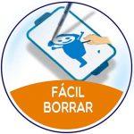 BIC Velleda Ardoise Double Face (24x33 cm) et Feutre Noir Effaçables à Sec - Lot de 1 de la marque BIC image 2 produit