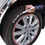 Blanc/blanc 2x Unités pneumatiques Crayon marqueur Auto, Moto, vélo Pneu de scooter pneumatiques markierungs Crayon Stylo Marqueur Crayon Étiquette Eau 101934INION® de la marque INION image 2 produit
