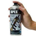 Bombe de peinture effaçable Noir - Opex de la marque image 1 produit
