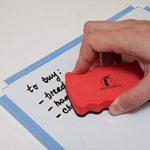 Brosse Effaceur Magnétique - Ensemble de 4 - Gomme au Tableau Blanc avec un Fort Aimant - Nettoyer Tous les Stylos à Effacer à Sec et les Marqueurs - Nettoyeur pour la Maison, le Bureau et L'école de la marque Navy Penguin image 3 produit