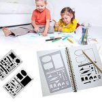 Bullet Journal Pochoir Plastique Planner DIY Dessin Modèle Règle, TIME4DEALS Lot de 20 Pièces Pochoirs Enfants Peinture pour Journal Scrapbooking Carte et Projets d'Art de la marque TIME4DEALS image 1 produit