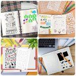 Bullet Journal Pochoir Plastique Planner DIY Dessin Modèle Règle, TIME4DEALS Lot de 20 Pièces Pochoirs Enfants Peinture pour Journal Scrapbooking Carte et Projets d'Art de la marque TIME4DEALS image 3 produit