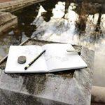 Canson Livre de dessin Cahier avec ouverture à plat 14 x 21,6 cm 80 feuilles Noir de la marque Canson image 4 produit