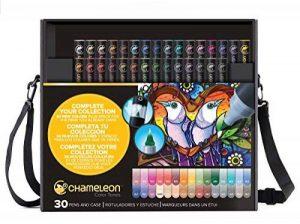Chameleon Art Products - Marqueurs Chameleon Pens, 30 de luxe marqueurs à base d'alcool de la marque Chameleon Art Products image 0 produit