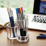 Choice Fun Fournitures Acrylique Organisateur Maquillage Bureau Organisateur Bureau Rangement pour Pinceau de Maquillage Pen de la marque Choice Fun image 2 produit