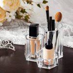 Choice Fun Fournitures Acrylique Organisateur Maquillage Bureau Organisateur Bureau Rangement pour Pinceau de Maquillage Pen de la marque Choice Fun image 3 produit