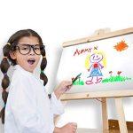 Colorful Art Mega Lot de 18 Marqueurs à craie et marqueurs- le meilleur pour les créations artistiques des enfants, Tableau de menu pour Bistrots Cafés–Stylos pour verres et vitres effaçables–Pointe fine de 6mm ou pointe biseautée–Couleurs fluo Do image 4 produit