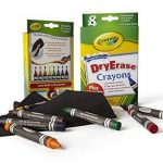 Crayola - 98-5200 - Activités Créatives dessin et feutres 8 crayons a la cire effacable de la marque Crayola image 4 produit