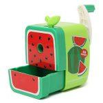 Crayon Taille Manuel Adorable Pour Enfant Fourniture Ecole Couleurs Assorties Style de Fruit Vert Pastèque de la marque Ziolsam_FR image 2 produit