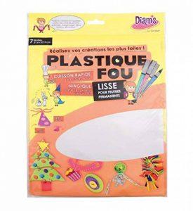Diam's DI42263 Feuilles Plastique Fou Blanc 29,7 x 21,6 x 0,1 cm Lot de 7 de la marque Diam's image 0 produit