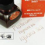 Encre indélébile pigmentée brun sépia INKG-1500 #65, pour stylo-plume de la marque Platinum image 2 produit