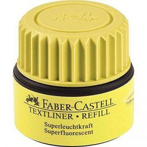 Faber-Castell 154907 TEXTLINER 1549 recharge, jaune de la marque Faber-Castell image 0 produit