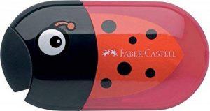 Faber-Castell 183526–Double taille-crayon Coccinelle avec gomme de la marque Faber-Castell image 0 produit