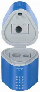 Faber-Castell 183801 Taille-crayon GRIP 2001 trio rouge/bleu de la marque Faber-Castell image 0 produit