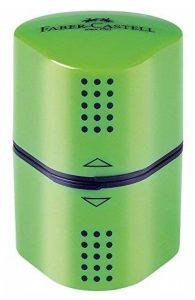 Faber-Castell Taille-crayon Grip 2001–3trous–Vert–183802 de la marque Faber-Castell image 0 produit