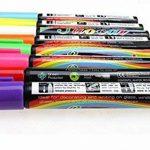 Fluotab® Kit de 8 Marqueurs à craie liquide Fluorescent effaçable/Feutre magique multi-couleurs pour les tableaux/ardoises/Miroir/Verre/Métal- Grand contenu: SATISFAIT OU REMBOURSÉ - 60 JOURS DE GARANTIE-Pointe 6MM de la marque FluoTab® image 1 produit