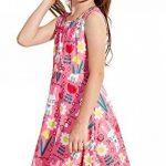 Funnycokid Petite Fille Robes de Fleur D 'est de Votre Ressort Est Imprimé Patineuse sans de la marque Funnycokid image 1 produit