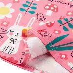 Funnycokid Petite Fille Robes de Fleur D 'est de Votre Ressort Est Imprimé Patineuse sans de la marque Funnycokid image 4 produit