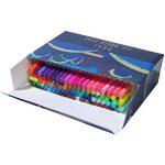 GC Quill Stylos à brosse à double pointe à 100 couleurs avec bordure fine Tip 0.4 PA32 de la marque GC Writing Quill image 1 produit