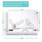 GOCHANGE A3 Planche à Dessin, 50 x 36.5cm Drawing Board Table à Dessin avec Mouvement Parallèle, Angle Réglable de la marque GOCHANGE image 4 produit