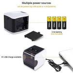 HOMMINI Taille-Crayon Electrique Avec Réservoir Chargé par USB & Batterie(Non inclus),2 trous (6-8mm & 9-12mm), Taille crayon automatique,Idéal pour La classe, Le bureau et La maison de la marque HOMMINI image 3 produit