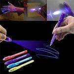 iZoeL Secrect stylos Spy Pen 7pcs Stylo Espion à Encre Invisible avec Lumière UV pour Les Messages Secrets des Enfants de la marque iZoeL image 4 produit