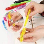 Jeu de stylo UV Light Set de 7, Invisible Ink Pen Maker, stylo de message d'espion avec la lumière UV intégrée pour des cadeaux d'idées de cadeaux d'enfants et de marquage de sécurité. de la marque FLYING_WE image 3 produit