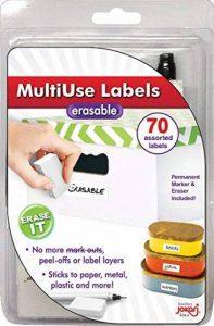 JOKARI imprimer une fois effaçable étiquettes multiusage kit de démarrage avec 70étiquettes, gomme et stylo de la marque JOKARI image 0 produit