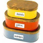 JOKARI imprimer une fois effaçable étiquettes multiusage kit de démarrage avec 70étiquettes, gomme et stylo de la marque JOKARI image 3 produit