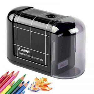 Kasimir Taille Crayon Electrique Professionnel Batterie Automatique Taille Crayon électrique Portable Les Enfants étudiants Artiste Designer Au Bureau De L'école -Noir de la marque Kasimir image 0 produit